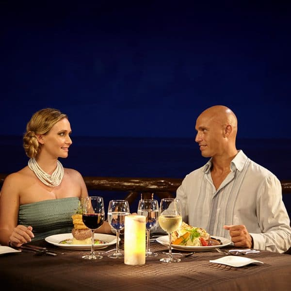 Desire Riviera Maya Resort | Romantic Dinner at The Beach