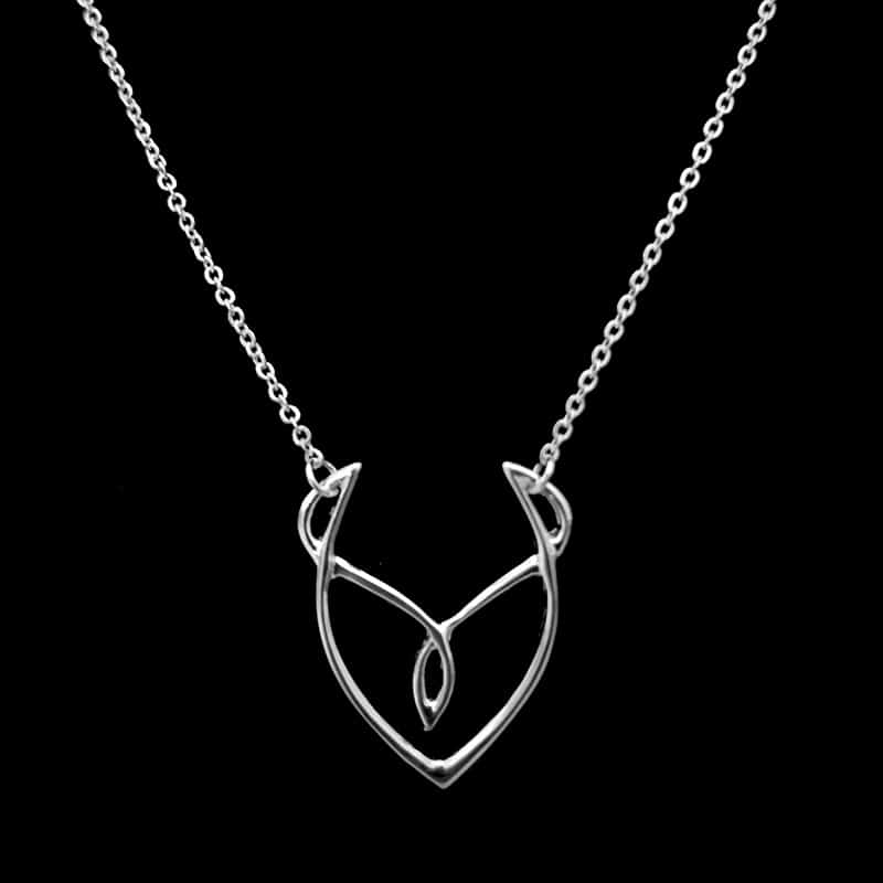 Desire Silver Necklace