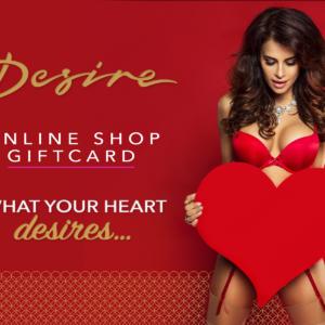 Desire Online Shop Gift Card